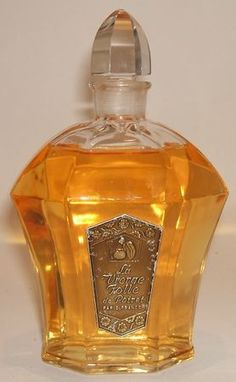 paul poiret perfume bottle vierge follie