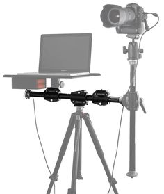 Tether Tools' Rock Solid Tripod Cross Bar lets you mount your Tether Table Aero on the same solid support as your camera to build a custom, ideal workstation that meets your specific needs. Camera Rig, Leica Camera, Camera Gear, Nikon Dslr, Film Camera, Electronic Kits, Pc System, Photography Cheat Sheets, Ideas