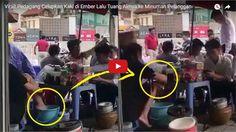 Video Viral: Pedagang Celupkan Kaki di Ember Lalu Tuang Airnya ke Minuman Pembeli