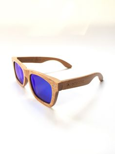 6687abfa93 Blue Bamboos - Handmade sunglasses from pure bamboo that will make you feel  and look great