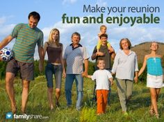 FamilyShare.com | How to plan an inexpensive family reunion