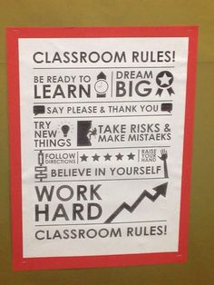 Class room rules
