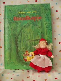 felt red riding hood, vilt roodkapje