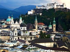 Hohensalzburg Fortress. Salzburg