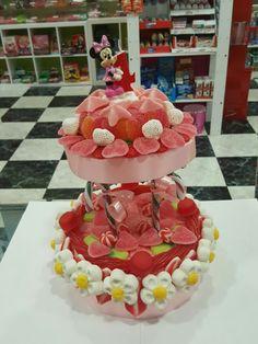 Tarta de chuches para cumpleaños de Dulzia Vigo Rosalía