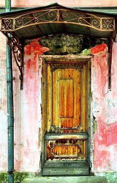 Moscow, Russia door