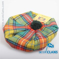 Buchanan Ancient Tartan Childs Tam. Free worldwide shipping available