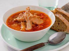 Hot linsesuppe med strimlet svinekjøtt 1 Norwegian Food, Ratatouille, Food Inspiration, Thai Red Curry, Recipies, Pasta, Nutrition, Lunch, Baking