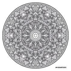 Mandala hand drawing 44 by Mandala-Jim on DeviantArt