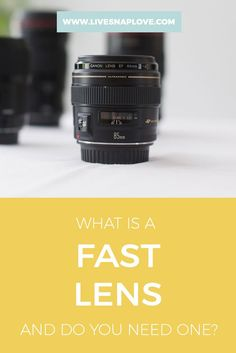 "You may have heard the term ""fast lenses"" or ""flat glass"" o your photography travels, and wondered what the hell that meant, and whether that meant you had to go and get one of them too.  In this post, I'm going to break down what fast glass actually is, and why having o"