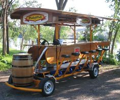 [blog post] Pedal Pub, anyone? Here are 5 unique bachelor party concepts to send the groom out in style.