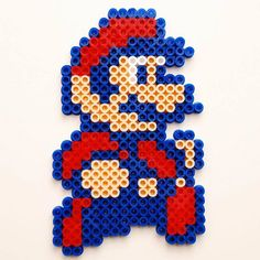 Super Mario 2 perler beads by at0msk