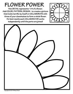 Art Enrichment Everyday MAY Activity Coloring Pages – Ali.R Art Enrichment Everyday MAY Activity Coloring Pages 20 activities to ease you and your kids into summer! Collaborative projects, art and classroom sub lessons, flowers. Collaborative Art Projects For Kids, Group Art Projects, Classroom Art Projects, School Art Projects, Art Classroom, Summer Art Projects, Art Sub Plans, Art Lesson Plans, Art Worksheets