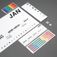 The Vertical is a large wall calendar that displays time in a comfortable, linear fashion. It even comes with a hang-up set to eliminate punctures. To us it's how calendars should be. This package, the Planner package puts all three of our calendars...