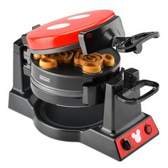 Mickey Mouse Anniversary Double Flip Waffle Maker Mickey has made a lasting impression for 90 years and will continue to d. Disney Home, Disney Mug, Casa Disney, Disney Parks, Disney Mickey Mouse, Disney Cruise, Minnie Mouse, Cozinha Do Mickey Mouse, Mickey Mouse Kitchen