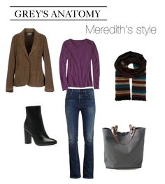 """""""Meredith Grey's style"""" by tvdressing ❤ liked on Polyvore featuring Henry Cotton's, Citizens of Humanity, Independent Reign, Missoni, Costume, tvshow, GREYSANATOMY, ellenpompeo and costumedesign"""
