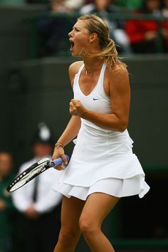 Maria Sharapova Nike 2007 Wimbledon dress