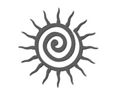 "(no words - ""Silhouette Design Store - View Design sun"") Sun Silhouette, Silhouette Design, Native American Symbols, Silhouette Online Store, Sun Designs, Desenho Tattoo, Sun Art, Cameo, Aboriginal Art"