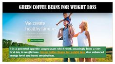 Weight Loss Health Product Green Coffee Beans Online