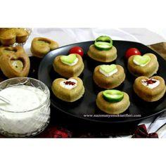 www.nazonunyemekleri.com Haşhaşlı mısır unlu kalp muffin
