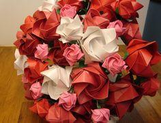 decoração de casamento com origami - Pesquisa Google