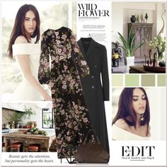 WILD FLOWER - NET-A-PORTER ISSUE by carla-turner-bastet on Polyvore featuring mode, Giambattista Valli, The Row, Alaïa, Bottega Veneta, Etiquette, meganfox, netaporter and wildflower