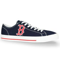 Boston Red Sox Row One Victory Shoes - Navy