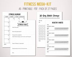 Coupon inside fitness mega kit healthy eating exercise coupon inside fitness mega kit healthy eating exercise nutrition diet meal planning recipes bullet journal printable fandeluxe Gallery
