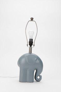 Elephant Lamp Base #urbanoutfitters