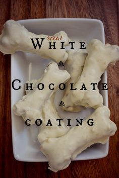 Raw White Chocolate - to be converted