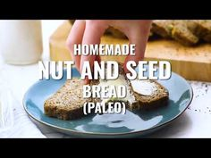 Homemade Nut and Seed Paleo Bread. Finally, a homemade paleo bread that is soft, easy to make, and great for sandwiches. Wholesome, freezable, low carb!