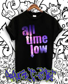 43f5d1c3d T-shirt · Galaxy Fashion, All Time Low, All About Time, Rock Bands, Indie,