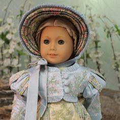 """Highbury"" an embroidered Regency Gown, Spencer, Bonnet & Undergarment by MHD via ebay, SOLD 8/3/14 for BIN of $1,800.00 (starting bid was $750.00)."