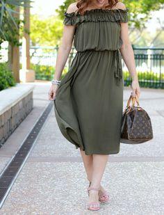 Midi Dress style on