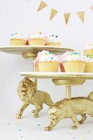 Wild Cat Cake Stand DIY - A Beautiful Mess