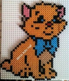 Toulouse Aristocats hama perler beads by deco.kdo.nat