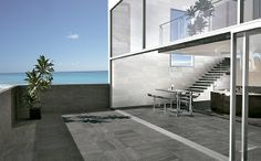 Materia Antracita 20mm #outdoor #tile