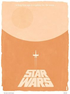 STAR WARS Trilogy Minimalist Poster Art  - News - GeekTyrant