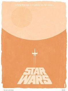 STAR WARS Trilogy Minimalist Poster Art - News - GeekTyrant