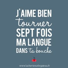 Funny Quotes : j'aime bien tourné ma langue sept fois - The Love Quotes The Words, Cool Words, Words Quotes, Love Quotes, Funny Quotes, Sayings, French Words, French Quotes, Lema