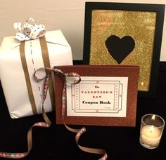 Learn How to Make a DIY Valentine's Day Coupon Book! #valentinesday