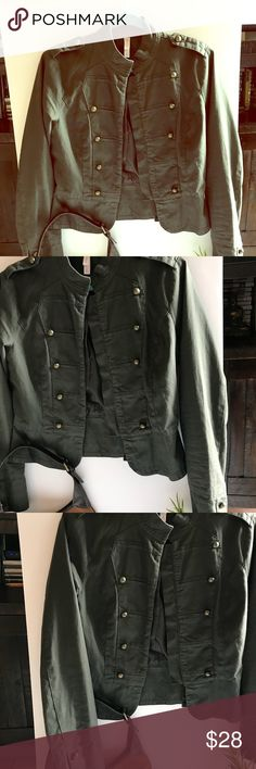 ❤️Xhiliration Military Jacket with Buttons Medium ❤️Medium Military Jacket with bronze buttons❤️ Xhilaration Jackets & Coats