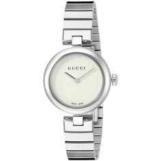 06423f2b400 Gucci Women s YA141502 Diamantissima Stainless Steel Watch