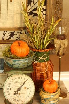 fall kitchen side table05