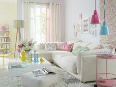 Inclua as candy colors na decoração da sua casa e deixe ela ainda mais doce!