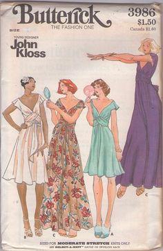 Retro Pattern, Vintage Sewing Patterns, Clothing Patterns, Dress Patterns, Lingerie Patterns, Paper Patterns, Fashion Patterns, Vintage Outfits, Vintage Fashion