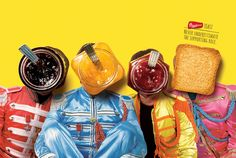 Never underestimate the supporting role: band     Bauducco toast   Source: ibelieveinadv   AlmapBBDO, São Paulo, Brazil