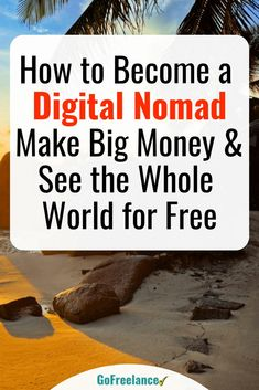 Are you stuck in a rut? Maybe you hate your job, you're itching to see the world, or you just think it's time for a change. If that's the case, then maybe you are a digital nomad in the making. From Thailand to Tasmania - and from Budapest to Buenos Aires Work From Home Jobs, Make Money From Home, Way To Make Money, Make Money Online, Internet Marketing, Social Media Marketing, Marketing Strategies, Affiliate Marketing, Digital Marketing