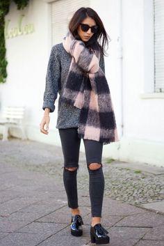 MUST HAVE: Bufandas. #outfit #look #musthave #moda #tendencias #robertpietri  Look by Fashion Cognoscente