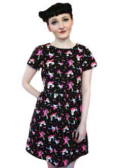 Tallulah's Threads Unicorn Skater Dress | Attitude Clothing